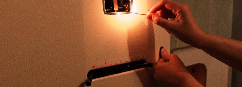 отключили свет что делать с газовым котлом